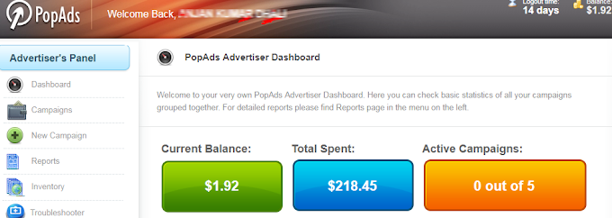 PopAds Review - Real Human Traffic For CPA/Affiliate Offers
