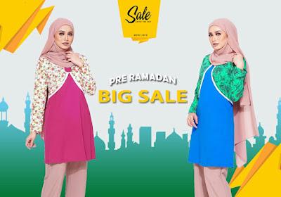 Blouse murah : Promosi Jualan Pra Ramadhan