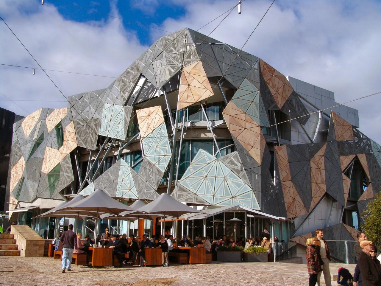 Federation Square. Melbourne, Australia