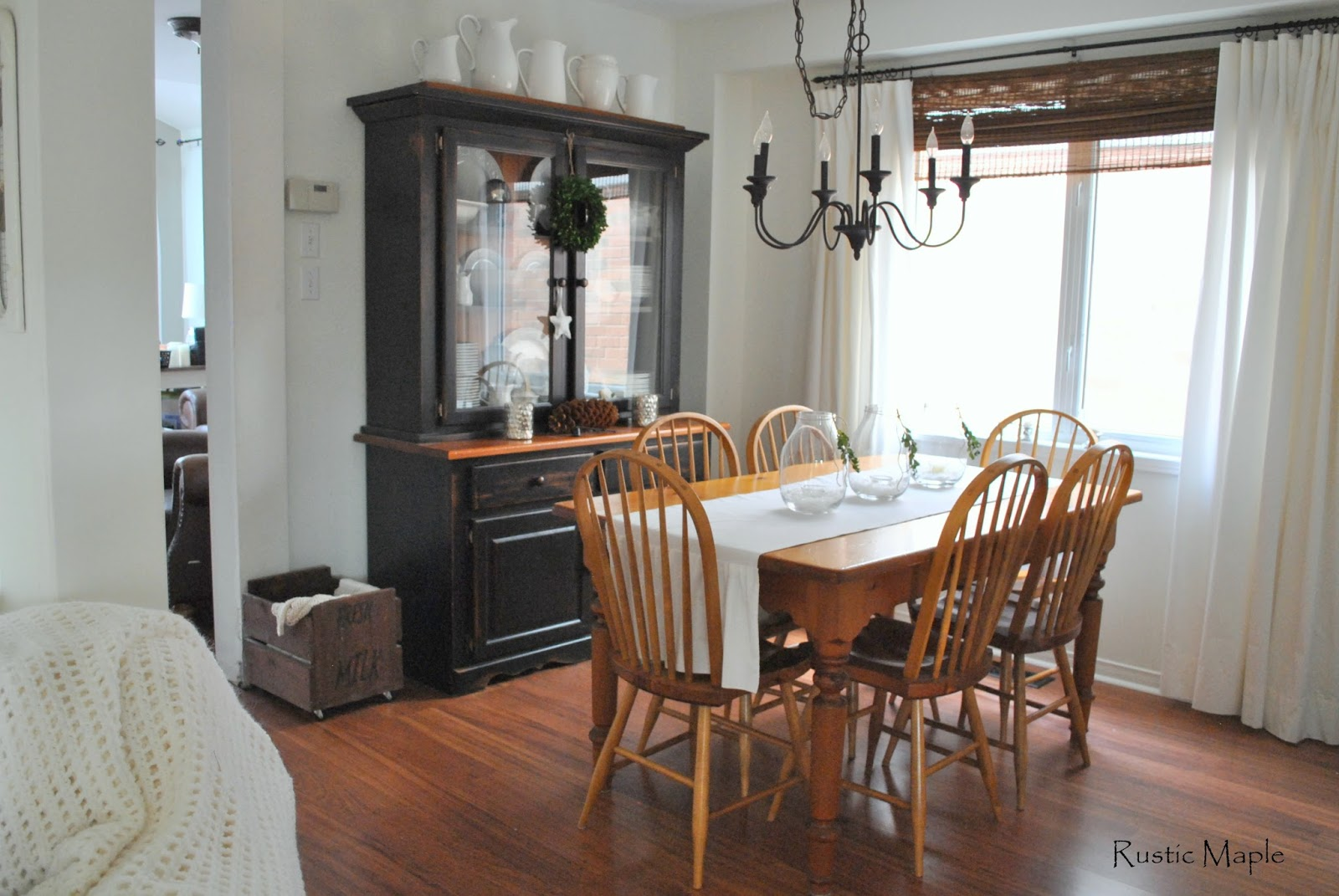 Part Of The Dining Room Is Also Traffic Path From Front Entry And Living Through To Family Back Our Home So Furniture Has