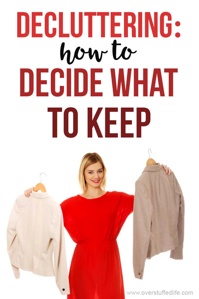 Wondering how to decide what to keep when decluttering? These 12 decluttering questions will help you decide what is worth keeping and what you should toss.