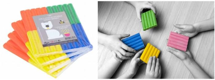 juguetes y juegos para ayudar a aprender a leer y escribir, plastilina natural