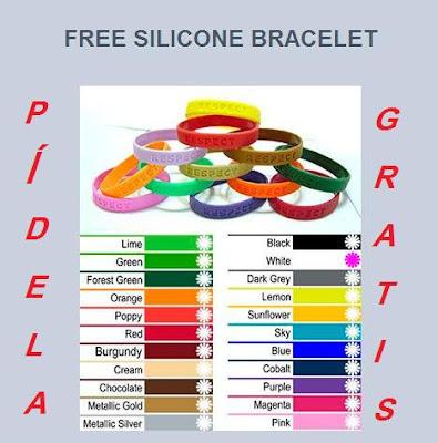 muestras gratuitas y regalos pulseras gratis