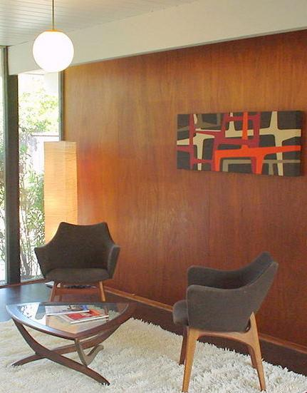 Great ideas for interior decoration new year brings new - Mid century interior design ...