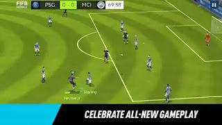 تحميل تنزيل لعبة فيفا موبايل مهكره FIFA Mobile Soccer Football apk مهكرة جاهزة, تهكير كامل hack mod اخر اصدار مجانا للاندرويد