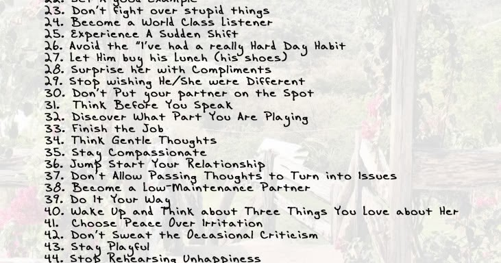 How Not Sweat Small Stuff Relationships