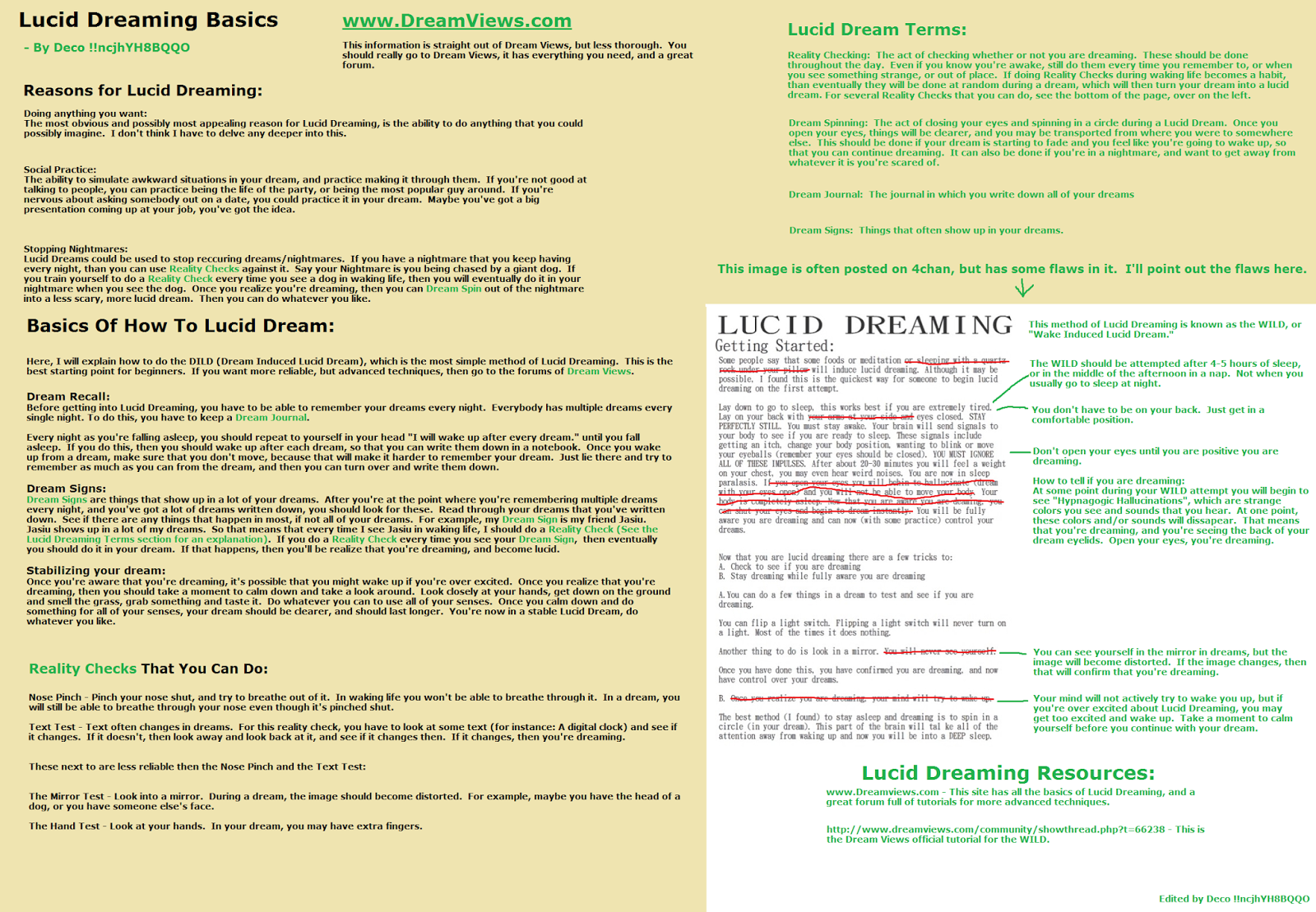 Lucid dreaming | < madInfoGraph >