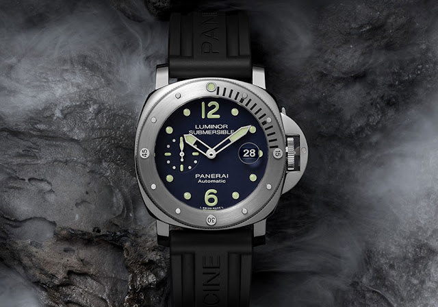 Officine Panerailaunched the Luminor Submersible Automatic Acciaio 44mm   PAM00731, a limited edition model made in only 100 pieces and sold   exclusively to online customers at...