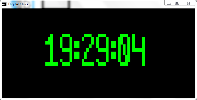 How to make 'Simple Digital Clock' only with 'Notepad' in Windows? | The Digital Clock Project v.1.0 | Advance Batch | By Kvc