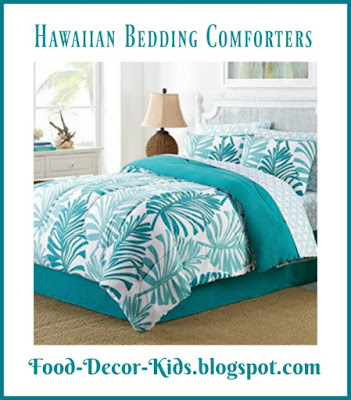 Hawaiian Bedding Comforters