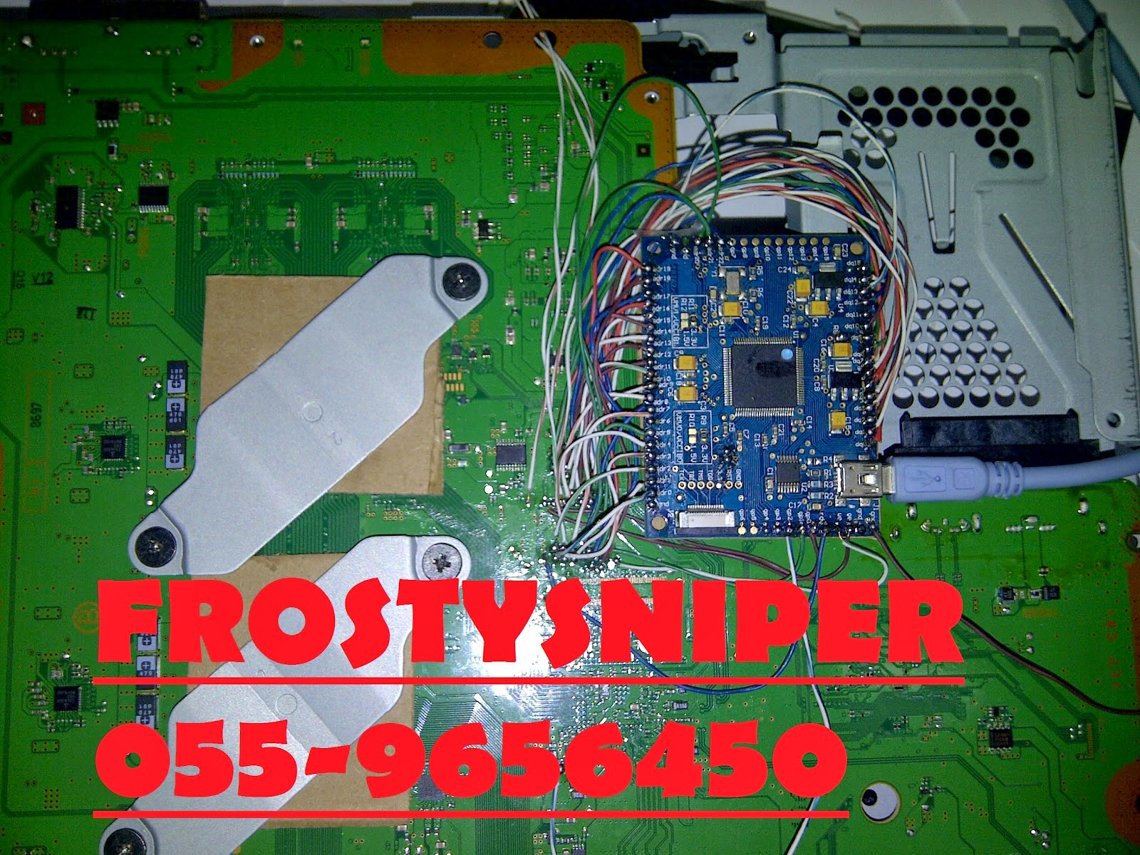 Ps3 Dubai Modding Downgrading Loop Sony Super Slim 500gb Ofw Full Game Below Are Some Pictures Of The Work Involved In