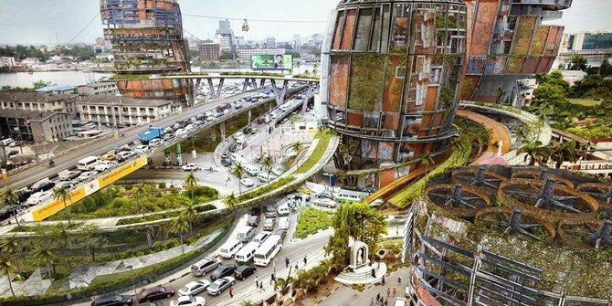 Tujuh Desain Arsitektur Masa Depan Paling Canggih Dan Ramah Lingkungan Tentunya