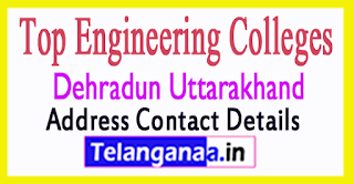 Top Engineering Colleges in Dehradun Uttarakhand