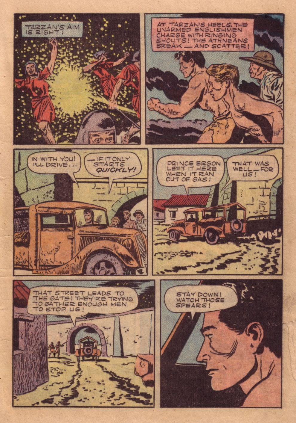Tarzan (1948) issue 40 - Page 21
