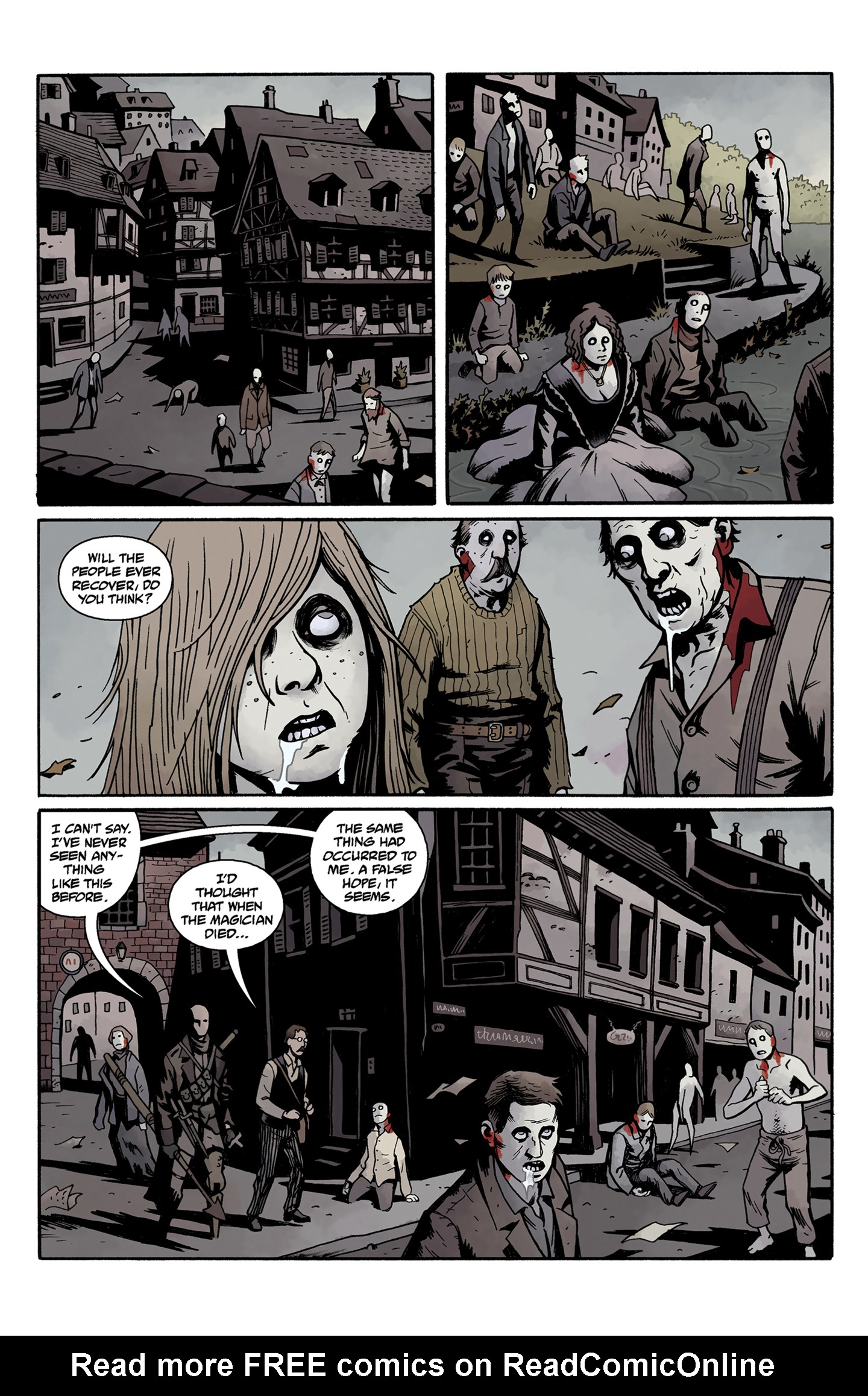 Read online Baltimore: The Curse Bells comic -  Issue #5 - 20