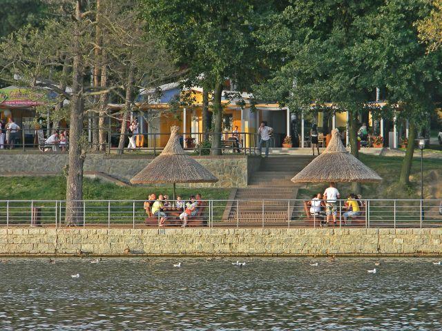 miejsca w Sławie, Jezioro Sławskie