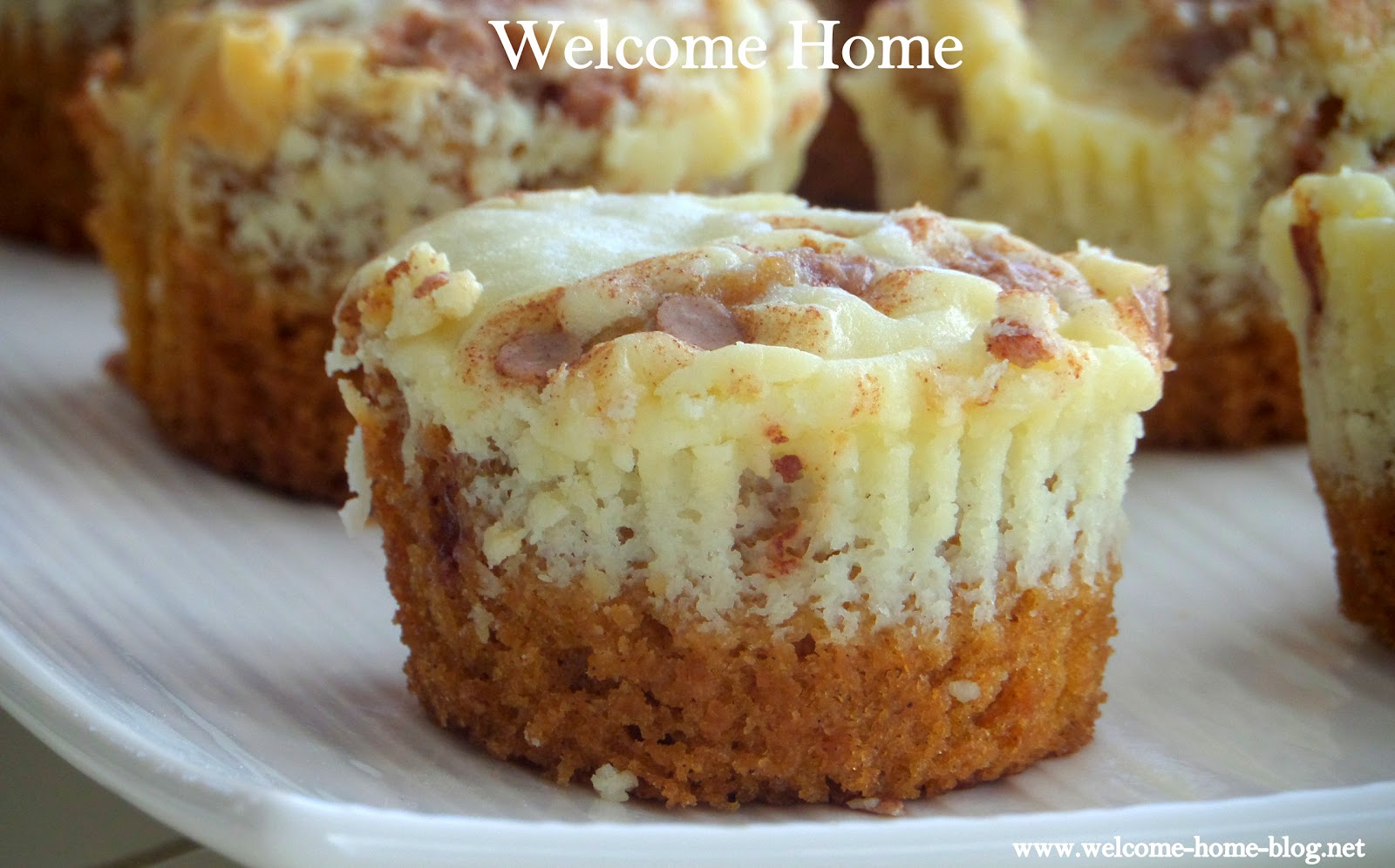 Individual Pumpkin Cheesecakes Recipe — Dishmaps