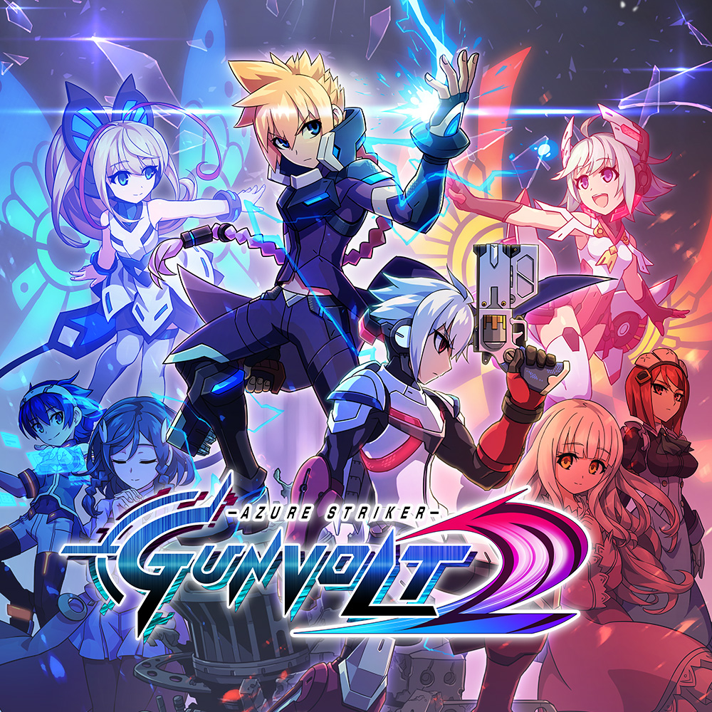Download 3DS CIAs: Azure Striker Gunvolt 2