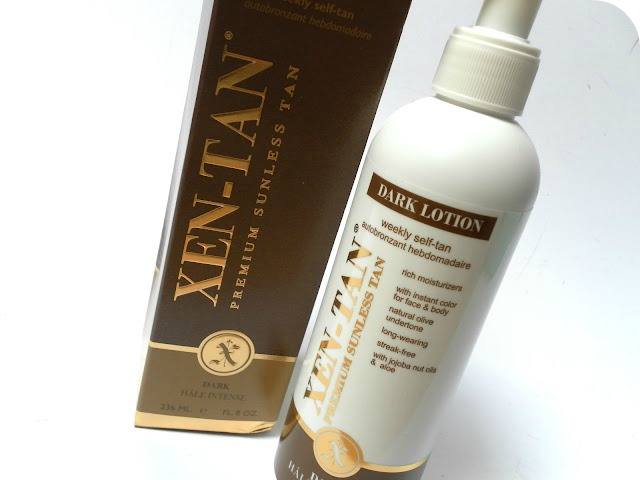 A picture of Xen-Tan Dark Lotion Weekly Self-Tan