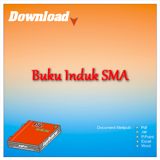 Download Contoh Format Buku Induk Siswa SMA Gratis