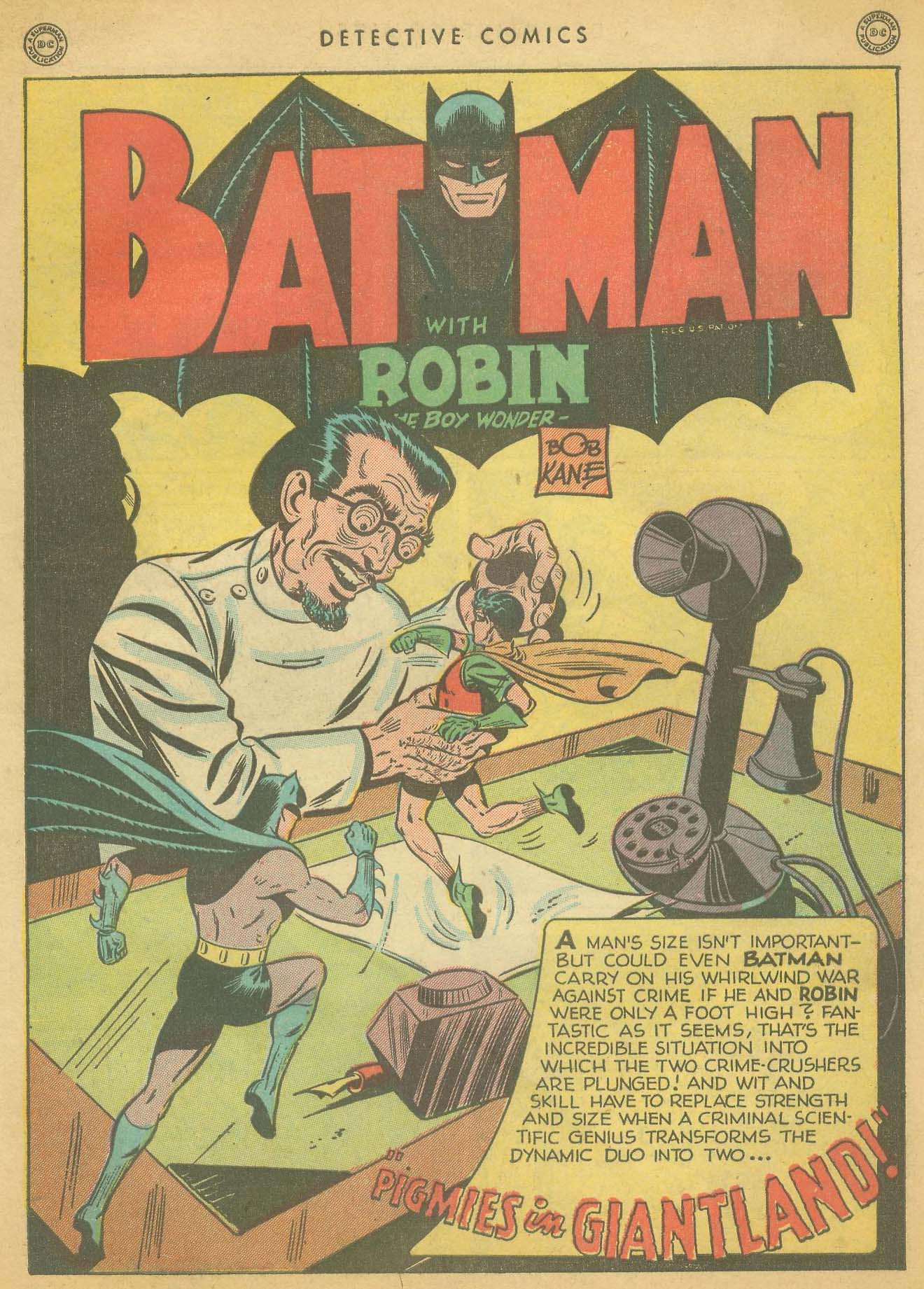 Detective Comics (1937) issue 127 - Page 3