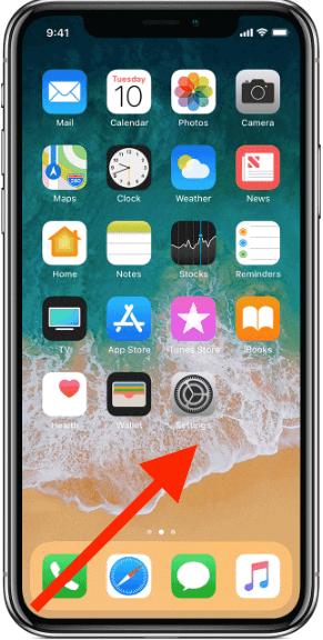 كيفية فتح مبدل التطبيقات App Switcher في ايفون X
