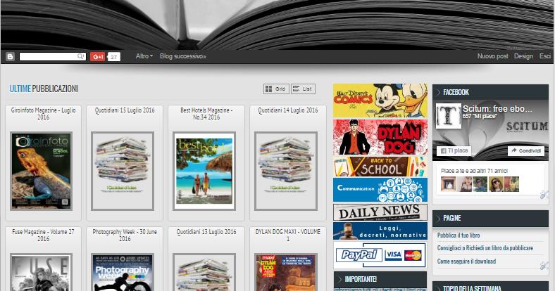 Scaricare libri e pdf gratis i migliori siti for Siti dove acquistare libri