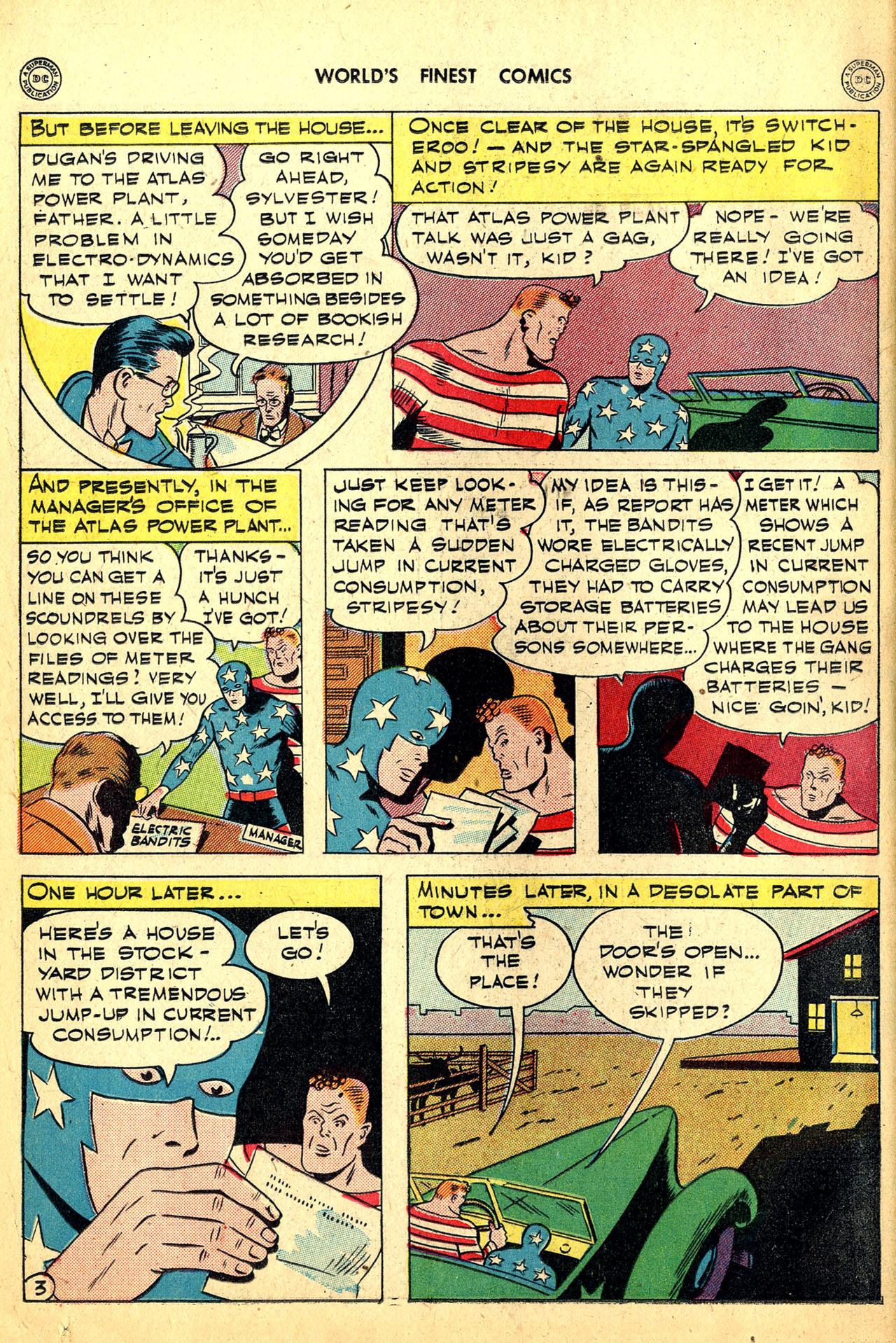 Read online World's Finest Comics comic -  Issue #18 - 18
