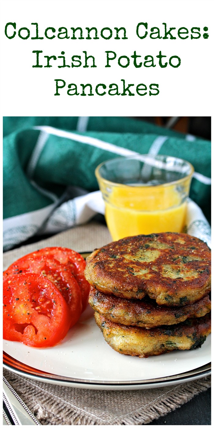 Colcannon Cakes, delicious Irish Potato Pancakes