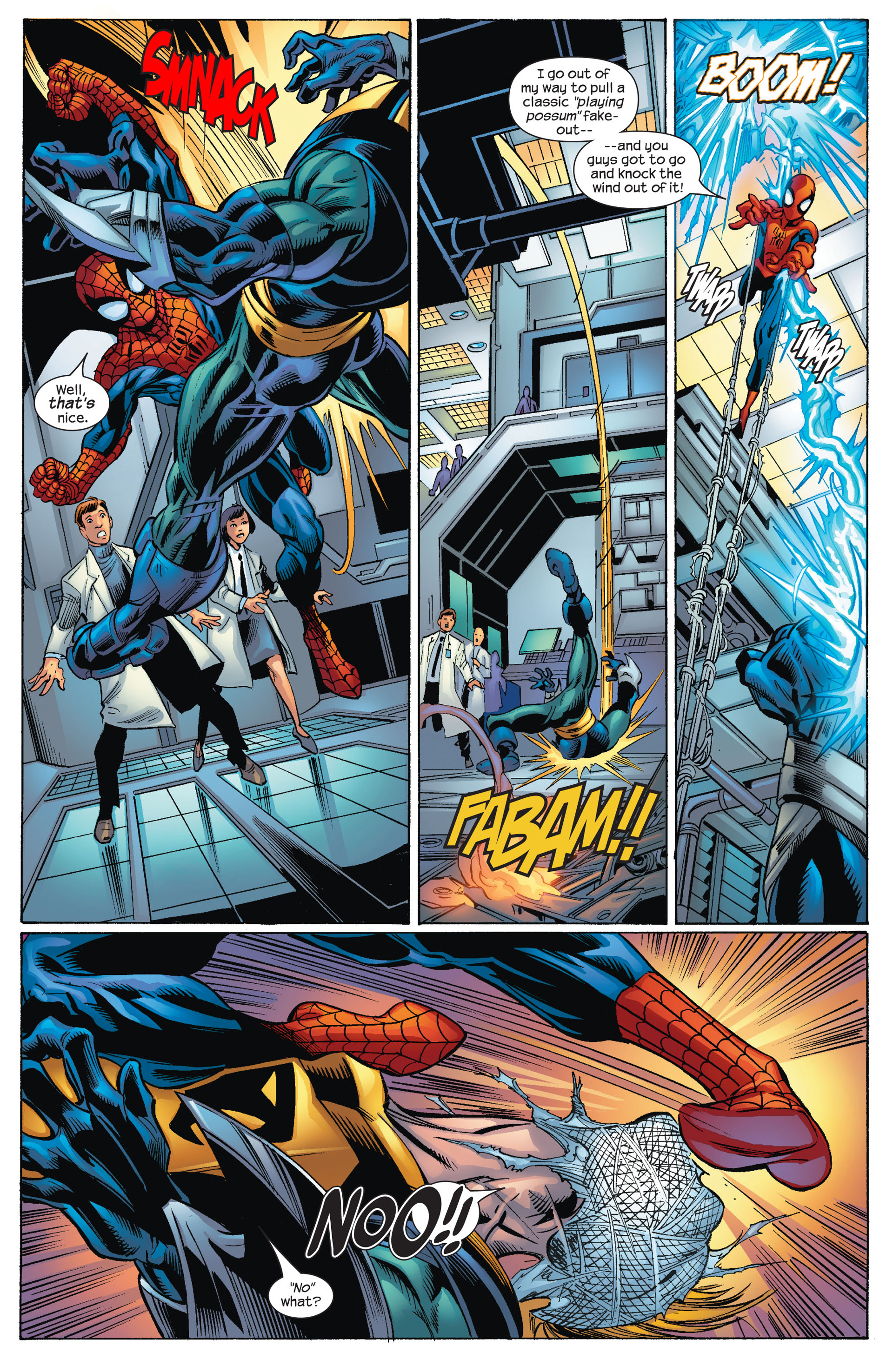 Read online Ultimate Spider-Man (2000) comic -  Issue #72 - 12