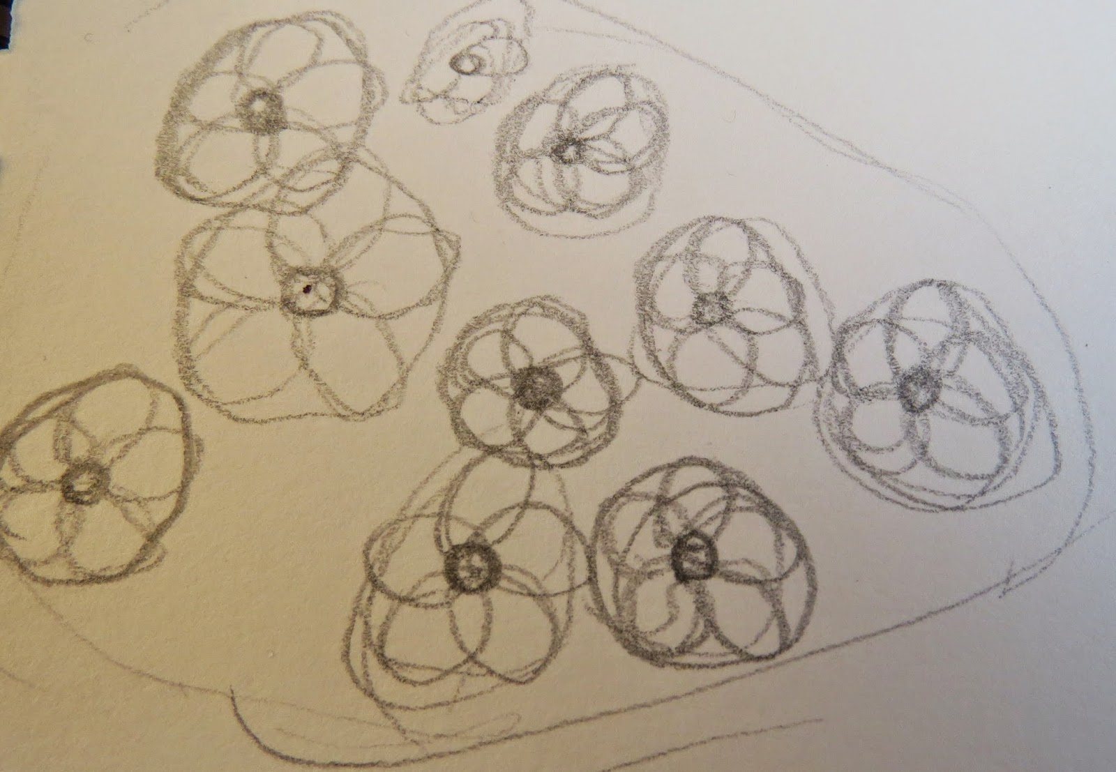 The Autistic Naturalist How To Draw Spring Flowers