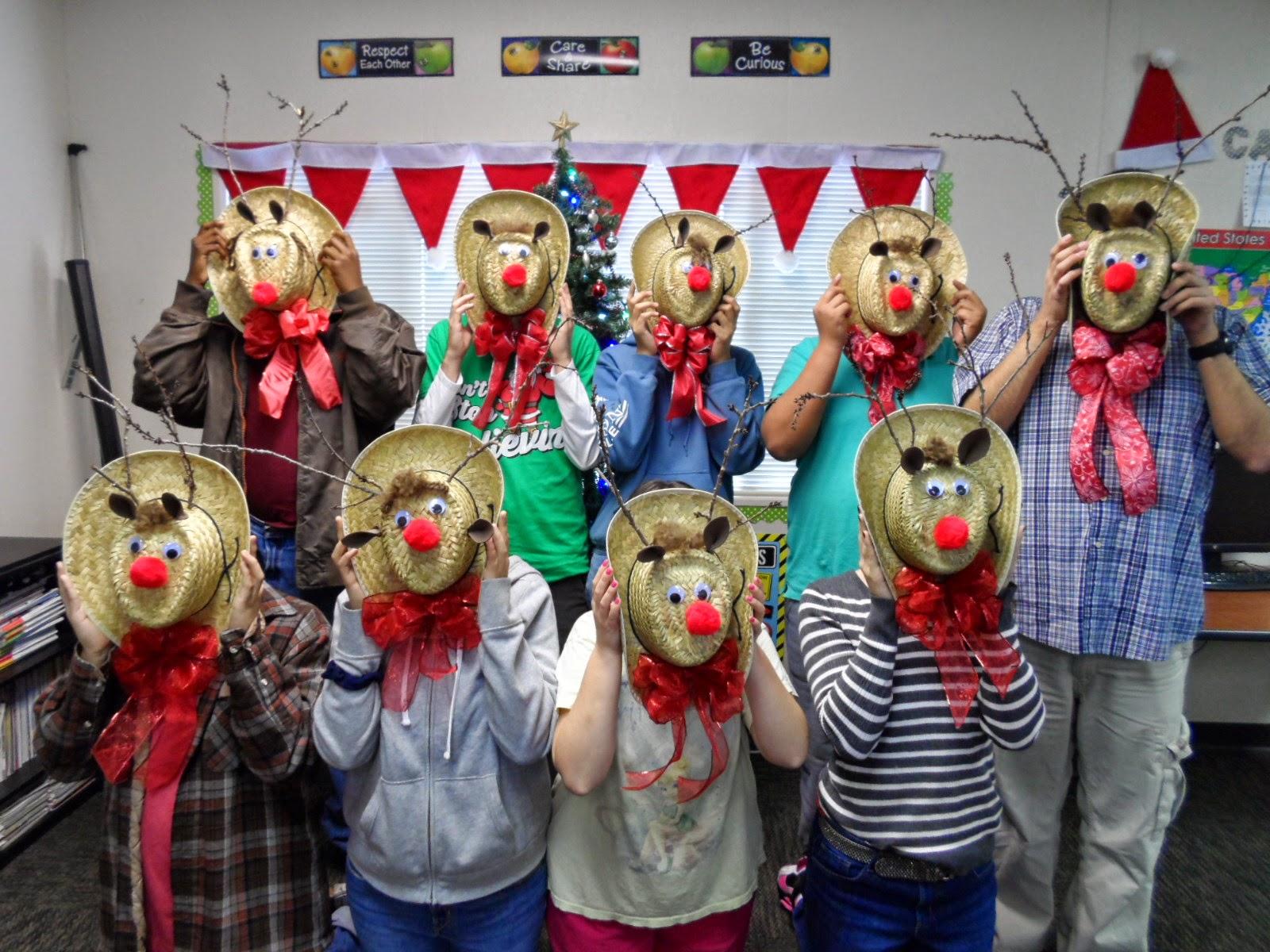 Empowered By Them Reindeer Hat Craft