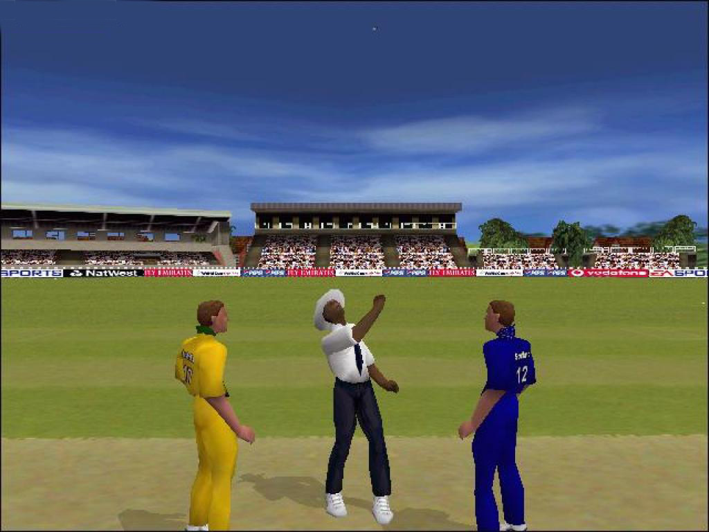 Ea sports cricket 2000 aus vs eng gameplay match youtube.