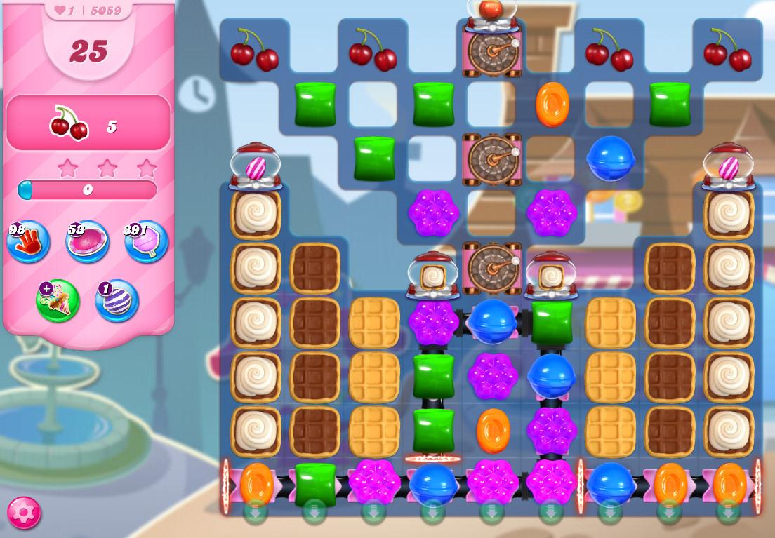 Candy Crush Saga level 5059
