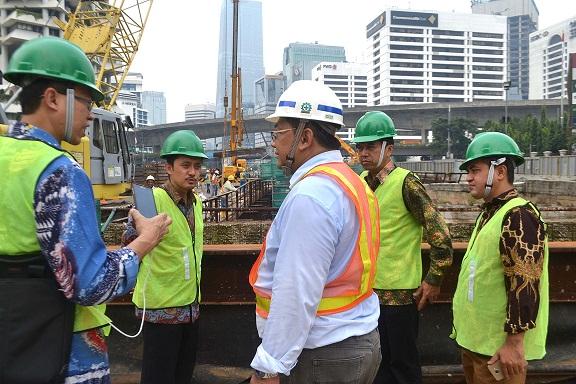 Tim Ahli UGM Kunjungi Proyek MRT Jakarta