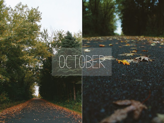 behind the lens: october