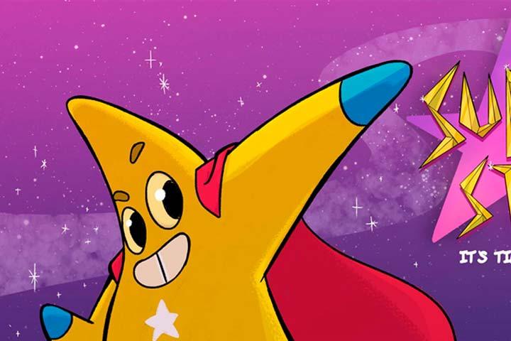 Animación, Super Star de 1 Micro Fuerte