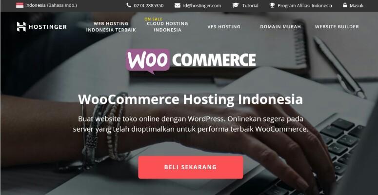 Hostinger (WooCommerce Hosting Indonesia)