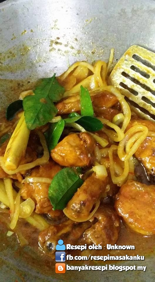 Resepi Ayam Masak Thai (SbS)   Resepi Tutorial Terbaek