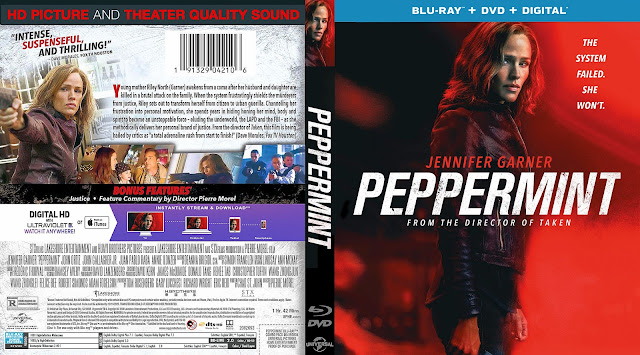 Peppermint Bluray