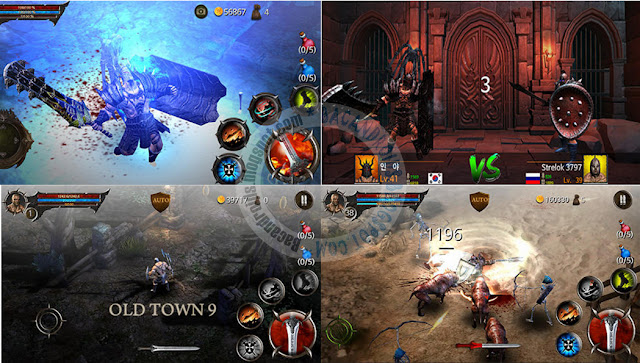 Blood Warrior Red Edition unreal engine Apk Data Terbaru