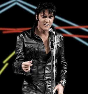 Gambar Jaket Kulit Elvis Presley Rock and Roll
