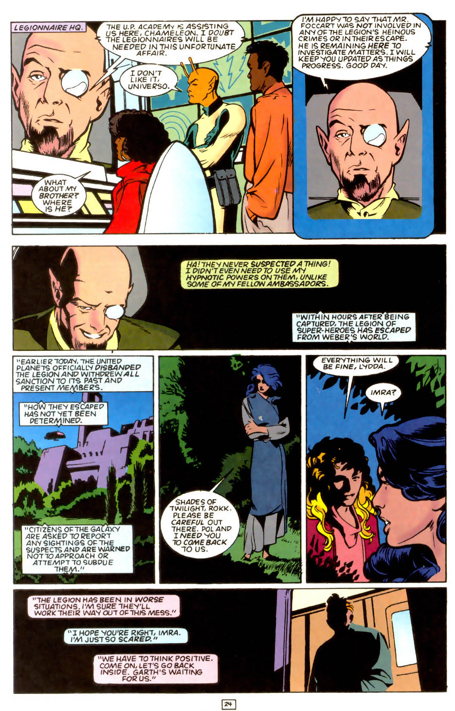 Legion of Super-Heroes (1989) 54 Page 22