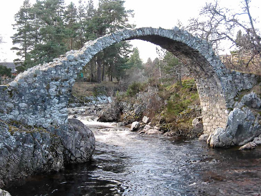 Carrbridge, a Unique BackPackers Destination in the Scottish Highlands.
