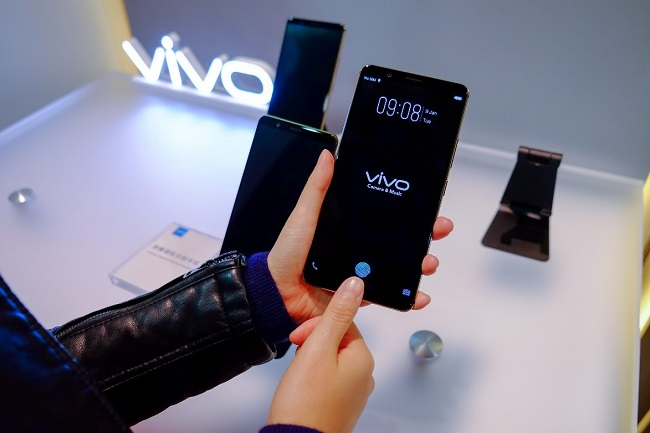 Vivo under-display fingerprint scanner