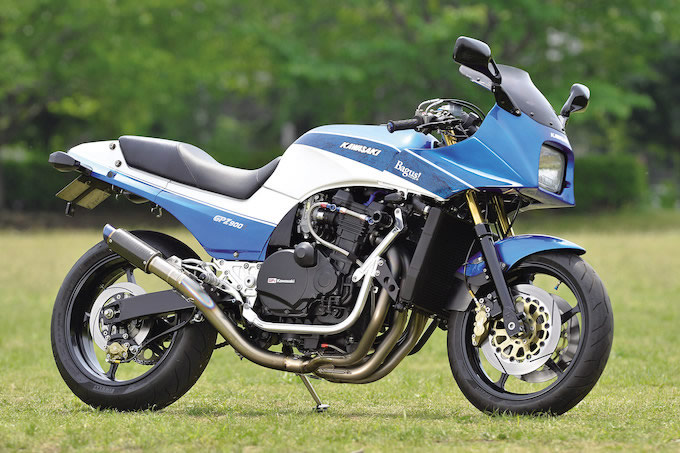 Planet Japan Blog: Kawasaki GPZ 900 R by Bagus!