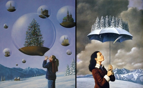 00-Rafal-Olbinski-Paintings-of-Poetic-Surrealism-www-designstack-co