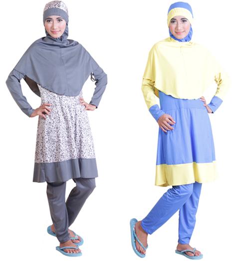 model baju renang syari