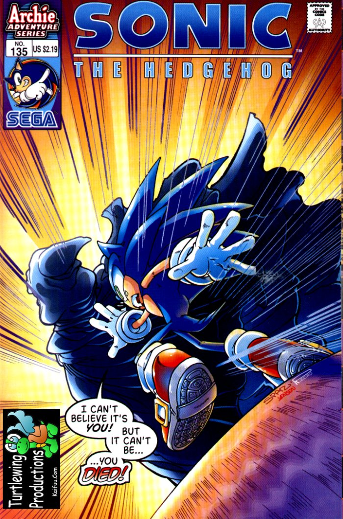 Read online Sonic The Hedgehog comic -  Issue #135 - 1