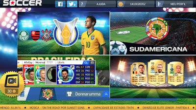 Dream League Soccer 2019 MOD APK+DATA Unlimited Money / Brazil A dan B] Full Version Terbaru Update!